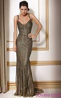 Jovani Fully Sequined Evening Dress 153948 image