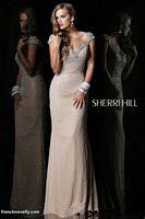 Sherri Hill 1541 Cap Sleeve Gown image