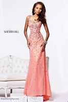 Sherri Hill 1542 One Shoulder Gown image