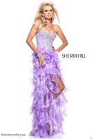 Sherri Hill 1543 High Low Ruffle Dress image