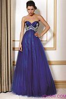 Jovani Rhinestone Tulle Evening Gown 154478 image