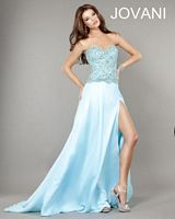 Jovani 1562 Formal Dress with Beaded Embroidery image