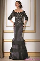 Jovani Black and White Evening Dress 158000 image