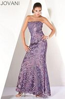 Jovani Lace Evening Gown 158027 image