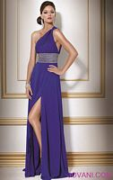 Jovani Evenings One Shoulder Formal Dress 158523 image