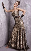 Jovani Black Vanilla Evening Dress 15859 image