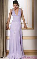 Jovani Low Cut Evening Dress 159205 image