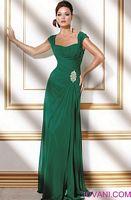 Jovani Draped Rhinestone Evening Gown 159330 image