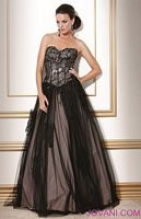 Jovani Evenings Corset Top Ball Gown 159336 image