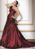 Jovani One Evening Dress with Flower Appliques 159342 image