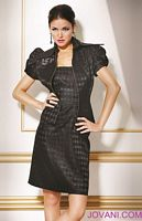 Jovani Evenings Cocktail Dress with Jacket 159636 image