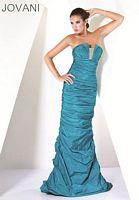 Jovani Teal Evening Dress 159934 image