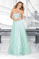 Tiffany 16018 Sparkle Tulle Formal Dress image