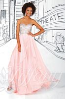 Tiffany Designs 16021 Beaded Bodice Evening Dress image