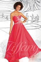 Tiffany Designs 16035 Beaded Trim Gown image