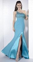 Tiffany Designs One Shoulder Homecoming Gown 16653 image