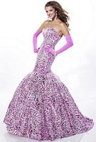 Tiffany Designs Sequin Leopard Mermaid Prom Dress 16666 image