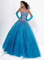 Ball Gowns for Prom 2012 Tiffany Designs Presentation Gown 16882 image