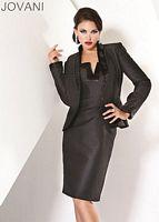 Jovani Black Cocktail Dress with Jacket 171222 image