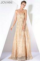Jovani Lace Evening Dress with Sheer Bolero 171333 image