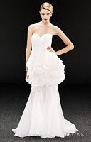 Jovani Unique Evening Dress with Tiered Ruffles 171534 image
