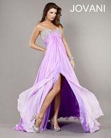 Jovani 1717 Illusion Mermaid Gown image