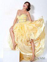 Jovani Organza High Low Party Dress 171717 image