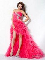 Jovani Tulle High Low Evening Dress 171731 image