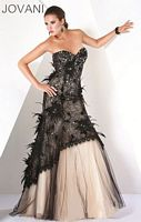 Jovani Black Evening Dress 171748 image