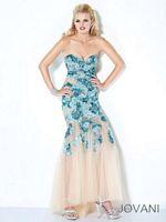 Jovani Floral Embellished Evening Dress 172208 image