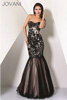 Jovani Mermaid Evening Dress 17937 image