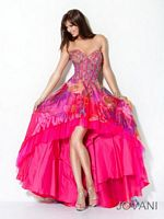 Jovani High Low Evening Dress 17987 image