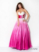 Jovani Ombre Evening Gown 17989 image