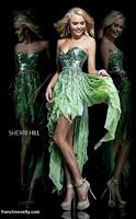Sherri Hill 1922 High Low Layered Party Dress image
