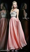 Sherri Hill 1923 Beaded Bodice Evening Dress image