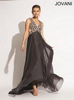 Jovani 1929 Empire Chiffon Formal Dress image