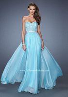 La Femme 19437 Natural Waist Evening Dress image