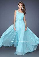 La Femme 19706 Grecian One Shoulder Gown image