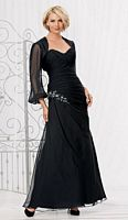 Size 14 Black Caterina 2024 Mothers Gown for Weddings image