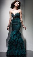Claudine for Alyce Ruffle Trumpet Tulle Dress 2024 image