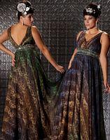 Fabulouss Animal Print Plus Size Prom Dress by MacDuggal 2033F image