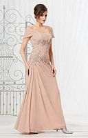 Caterina 2037 MOB Dress with Removable Wrap image