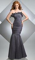 Size 12 Charcoal Bari Jay Mermaid Bridesmaid Dress 205 image