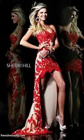 Sherri Hill 21016 High Low Floral Dress image