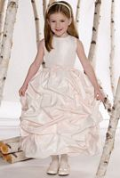 Joan Calabrese for Mon Cheri Flower Girls Dress with Pickups 211303 image