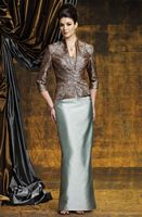 Montage Boutique by Mon Cheri Long MOB Suit with Lace 211950 image