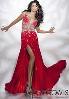Tony Bowls Collection Sleeveless Jersey Pageant Dress 211C60 image
