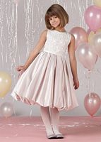 Joan Calabrese by Mon Cheri Girls Bubble Dress 212363 image