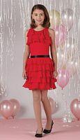 Joan Calabrese by Mon Cheri Girls Tank Dress 212375 image