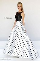 Sherri Hill 21328 Polka Dot Evening Dress image
